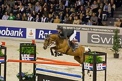 Delaveau Patrice (FRA) - Ornella Mail Hdc<br /> Rolex FEI World Cup ™ Jumping Final <br /> 'S Hertogenbosch 2012<br /> © Dirk Caremans