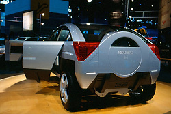 isuzu suv as seen at the Chicago Auto Show in February 2001 at McCormick Place, Chicago Illinois...This image was scanned from a slide, print or transparency.  Image quality may vary.  Dust and other unwanted artifacts may exist.