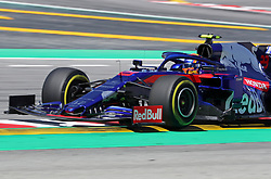 May 10, 2019 - Barcelona, Spain - Toro Rosso of Alexander Albon during the practices of the GP Spain Formula 1, on 10th May 2019, Barcelona, Spain. (Credit Image: © Joan Valls/NurPhoto via ZUMA Press)