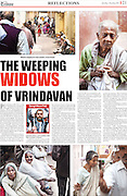 Lucknow Tribune (India) article on the Widows of Vrindavan.