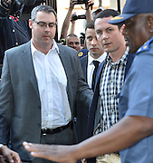 Day of Verdict In The Trial Of Oscar Pistorius<br /> <br /> Oscar Pistorius arrive in North Gauteng High Court on September 11, 2014 in Pretoria, South Africa. <br /> <br /> Judge Thokozile Masipa will deliver judgment on Oscar Pistorius for the murder of his girlfriend, model Reeva Steenkamp <br /> <br /> ©Exclusivepix