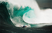 2001<br /> Organizers: Mark Fordham, Nathan Purcell<br /> Waiting Period: 21st of June to 22nd of July (1 - 2 days event depending on conditions)<br /> Format: 10 locals, 8 Australians, 5 internationals, 2 round event, six 1 hour 4 men heats, 3 best scoring waves counting each round<br /> Results and prizes<br /> 1. Damian King ($10,000 AUD)<br /> 2. Ryan Hardy ($3000 AUD)<br /> 3. Sean Virtue ($2000 AUD)<br /> 4. Dave Ballard ($1000)<br /> 5. Andrew Lester ($800)<br /> 6. Jeff Hubbard ($700 AUD)<br /> 7. Steve Mackenzie ($600 AUD)<br /> 7. Toby Player ($500 AUD)<br /> Sponsors: Human / Custom X / Citizen Watches / The Surf Travel Co / Dreamweaver Surfing Adventures / Wave Cam / Wing Wetsuits<br /> Best move: Ryan Hardy<br /> Best barrel: Simon Thornton<br /> Best wipeout: Ryan McKinnon<br /> Conditions:<br /> 1st round: 2 - 2,5 meters (6+ - 8 foot) east with little north on the swell with light westerly wind<br /> 2nd round: 2 - 2,5+ meters (6+ - 8+ foot) east with little north on the swell (a little bigger than on the 1st round)<br /> Footage: The Human Shark Island Challenge 2001 by Ian Stewart.<br /> This year presented the heaviest wave conditions for a SIC ever. With former champion Mike Stewart pulling out of the competition due to family commitments, the stage was clear for the other performers. South African Alistair Taylor (bodyboarder) had to go to the hospital to check his injuries after receiving one of the worst wipeouts ever seen at Shark Island. International top bodyboarders dominated the competition with to be two-times world champion Damian King taking the lead. [5]<br /> Pixs by ...Craig Golding