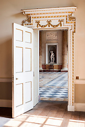 Wentworth Woodhouse looking from Anteroom into Marble Saloon<br /> <br /> 26 June 2013<br /> Image © Paul David Drabble<br /> www.pauldaviddrabble.co.uk