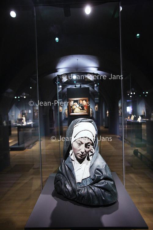 Nederland, Amsterdam , 25 mars 2013..Rijksmuseum..La collection de 500-1500..Foto:Jean-Pierre Jans