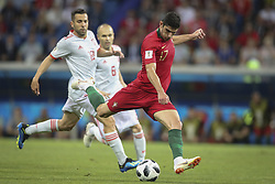 June 15, 2018 - Na - Sochi, 06/15/2018 - The National Team of Portugal has faced Spain in Group B play in the 2018 World Cup finals. Gonçalo Guedes and  (Credit Image: © Atlantico Press via ZUMA Wire)