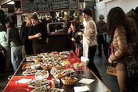 Slowfood Oyster Festival in honor of Brillat Savarin - photograph by Owen Franken..