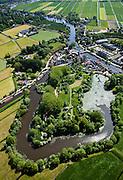 Nederland, Utrecht, Gemeente Abcoude, 25-05-2010; Vecht bij Nieuwersluis, met Fort Nieuwersluis..luchtfoto (toeslag), aerial photo (additional fee required).foto/photo Siebe Swart