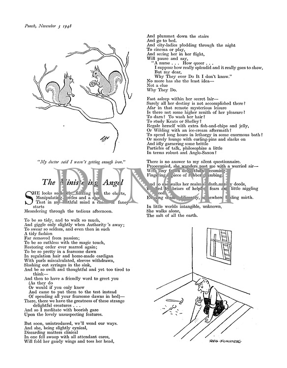The Ministering Angel (poem by R D Montgomery)
