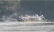Putney, London, Varsity Boat Race, 07/04/2019, Embankment, Oxford V Cambridge, Men's Race, Women's Race, Championship Course,<br /> [Mandatory Credit: Patrick WHITE], Sunday,  07/04/2019,  2:32:39 pm,
