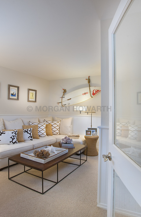 The Grand at Diamond Beach 9600 Atlantic Avenue Wildwood, NJ Designer Jeff Akseizer Family room TV room