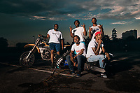 Cliff and the Bike Life Crew