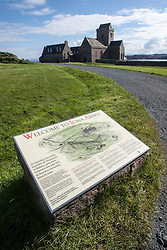 Looking towards Iona Abbey..Iona is a small island in the Inner Hebrides off the western coast of Scotland. It was a centre of Irish monasticism for four centuries and is today renowned for its tranquility and natural beauty..©Michael Schofield..