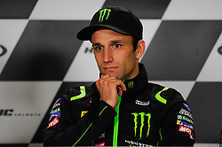 May 17, 2018 - Le Mans, France, France - Johann Zarco attends a press conference of France MotoGP at Circuit Bugatti Le Mans. (Credit Image: © Gaetano Piazzolla/Pacific Press via ZUMA Wire)