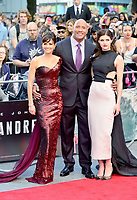 OIC - ENTSIMAGES.COM - Carla Gugino, Dwayne Johnson and Alex Daddario  attends the 'San Andreas' World Premiere at the Odeon Leicester Square in London, England. 21st May 2015.      Photo Ents Images/OIC 0203 174 1069
