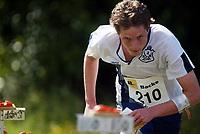 Orientering, 21. juni 2002. NM sprint. Henning Strandhagen, Asker.