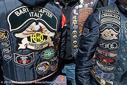 The Italian Connection in Daytona for bike Bike Week. FL, USA. March 14, 2014.  Photography ©2014 Michael Lichter.