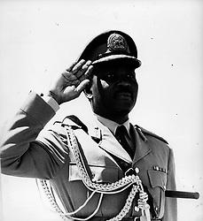 Oct 02, 1960 - London, UK - YAKUBU GOWON  (Credit Image: © Keystone Press Agency/Keystone USA via ZUMAPRESS.com)
