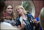 NANCY DEWE-MATHEWS; LOUISA BUCK; , Drinks party to launch this year's Frieze Masters.Hosted by Charles Saumarez Smith and Victoria Siddall<br />  Academicians' room - The Keepers House. Royal Academy. Piccadilly. London. 3 July 2014
