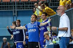 Branko Tamse, head coach of Celje during handball match between RK Celje Pivovarna Lasko and RD Koper 2013 of Super Cup 2016, on August 27, 2016 in SRC Marina, Portoroz / Portorose, Slovenia. Photo by Matic Klansek Velej / Sportida