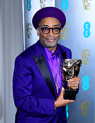 Spike Lee attending the after party for the 72nd British Academy Film Awards at the Grosvenor House Hotel in central London.