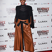 Judith Shekoni - Raindance Juror attends the Raindance Opening Gala 2018 held at Vue West End, Leicester Square on September 26, 2018 in London, England.