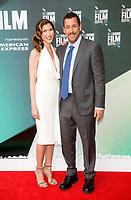 Adam Sandler and Jackie Sandler at the 'The Meyerowitz Stories' premiere, BFI London Film Festival, UK  6th Oct 2017