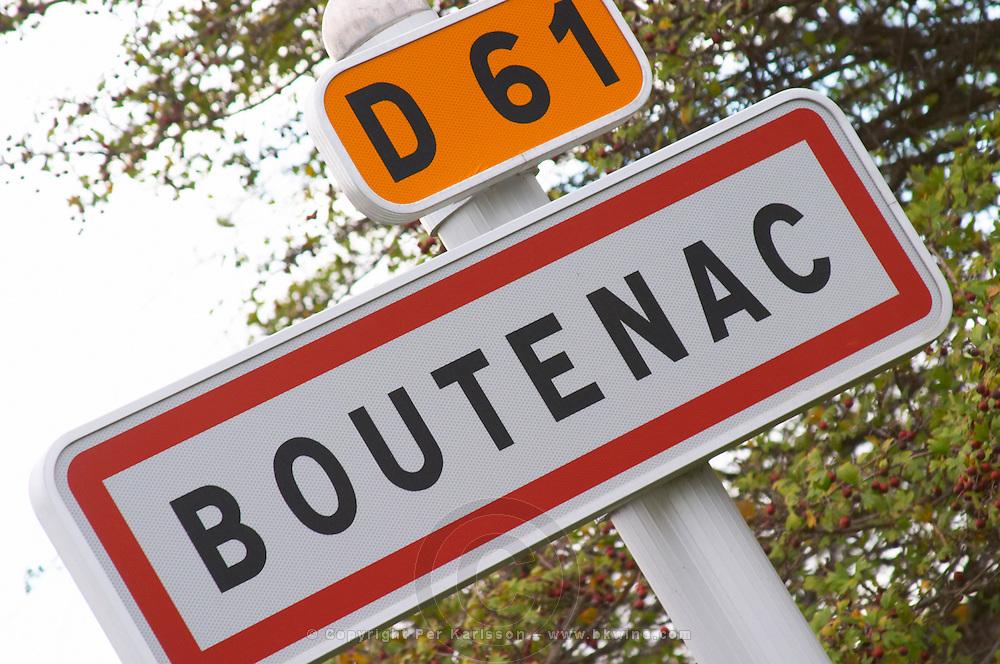Boutenac D61. Les Corbieres. Languedoc. France. Europe.