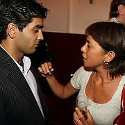 NLD/Amsterdam/20070910 - Voorpremiere Sextet, Mei Li Vos in gesprek Eshan Jami