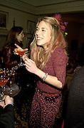 Cosmo Jencks. Candace Bushnell book party. Harington's. London. 1 February 2001. © Copyright Photograph by Dafydd Jones 66 Stockwell Park Rd. London SW9 0DA Tel 020 7733 0108 www.dafjones.com