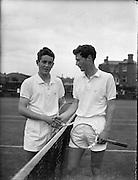 Tennis, International Junior Lawn Tennis Championships at Fitzwilliam Square, Dublin..22.08.1961