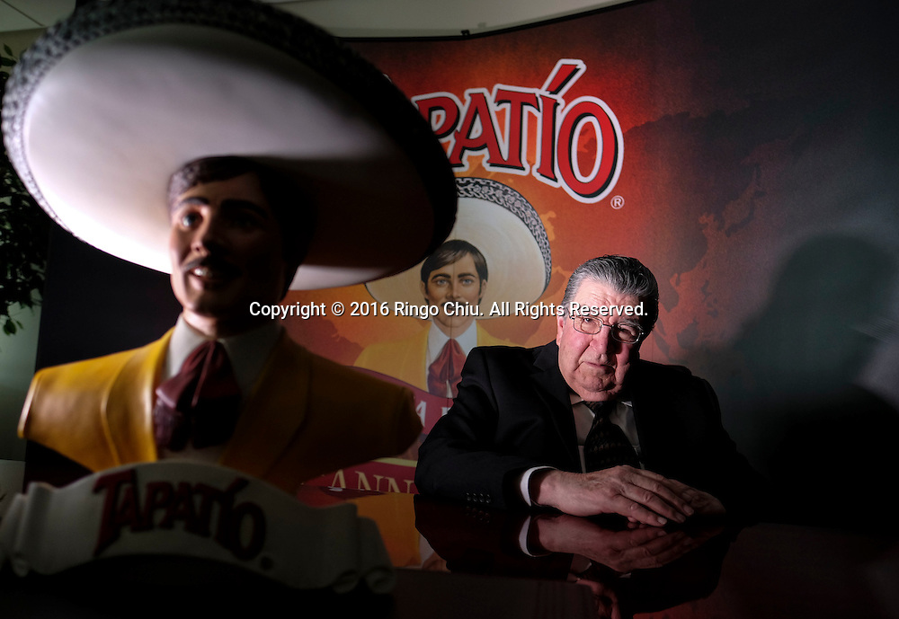 Jose-Luis Saavedra, founder and CEO of Tapatio Foods.(Photo by Ringo Chiu/PHOTOFORMULA.com)<br /> <br /> Usage Notes: This content is intended for editorial use only. For other uses, additional clearances may be required.