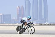 Foto LaPresse - Fabio Ferrari<br /> 22 Febbraio 2021 Abu Dhabi (Emirati Arabi Uniti)<br /> Sport Ciclismo<br /> UAE Tour 2021 -ABU DHABI SPORTS COUNCIL STAGE-<br /> Tappa 2 - Da Al Hudayriyat Island a Al Hudayriyat<br /> Island- ITT - 13 km.<br /> Nella foto: LUTSENKO Alexey(KAZ)(ASTANA - PREMIER TECH)<br /> Photo LaPresse - Fabio Ferrari<br /> February 22 2021 Abu Dhabi (United Arab Emirates) <br /> Sport Cycling<br /> UAE Tour 2021 -ABU DHABI SPORTS COUNCIL STAGE-<br /> Stage 2 - From Al Hudayriyat Island at Hudayriyat<br /> Island - ITT -8,07 miles<br /> In the pic:LUTSENKO Alexey(KAZ)(ASTANA - PREMIER TECH)