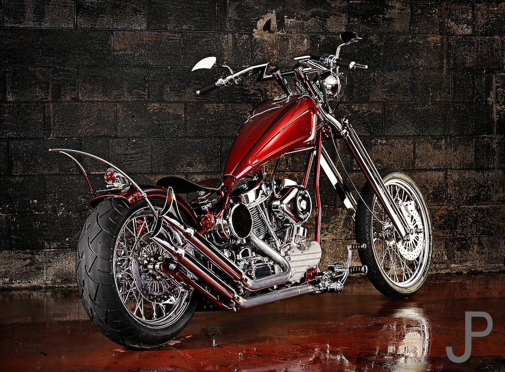 Darwin Motorycycle's Brass Ball Chopper