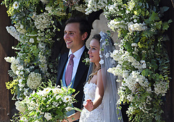 File photo dated 04/08/18 of Daisy Jenks and Charlie van Straubenzee. The Duchess of Sussex looks set to have turned to her inner circle of faithful friends for son Archie's godparents.