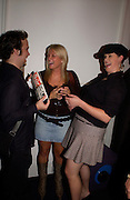 Scott Danenza, Fifi Geldoff and Lauren Neale, Hot Ice party hosted by Dominique Heriard Dubreuil and Theo Fennell, ( Remy Martin and theo Fennell) at 35 Belgrave Sq. London W1. 26 October 2004. ONE TIME USE ONLY - DO NOT ARCHIVE  © Copyright Photograph by Dafydd Jones 66 Stockwell Park Rd. London SW9 0DA Tel 020 7733 0108 www.dafjones.com