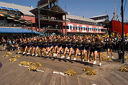 New York City, New York: High school band at South Street Seaport  .Photo #: ny270-14853  .Photo copyright Lee Foster, www.fostertravel.com, lee@fostertravel.com, 510-549-2202.