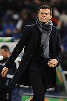 Luis Enrique, alenatore della AS Roma.<br /> Roma, 21/01/2012 Stadio Olimpico<br /> Football Calcio 2011/2012 <br /> Roma vs Cesena<br /> Campionato di calcio Serie A<br /> Foto Insidefoto Antonietta Baldassarre