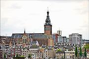 Nederland, Nijmegen, 15-5-2014 Voor de St Stevenskerk werd het startsein gegeven voor de langverwachte restauratie van met name het exterieur.Foto: Flip Franssen/Hollandse Hoogte