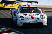 October 30-Nov 1, 2020. IMSA Weathertech Raceway Laguna Seca: #912 Porsche GT Team Porsche 911 RSR, GTLM: Earl Bamber, Laurens Vanthoor