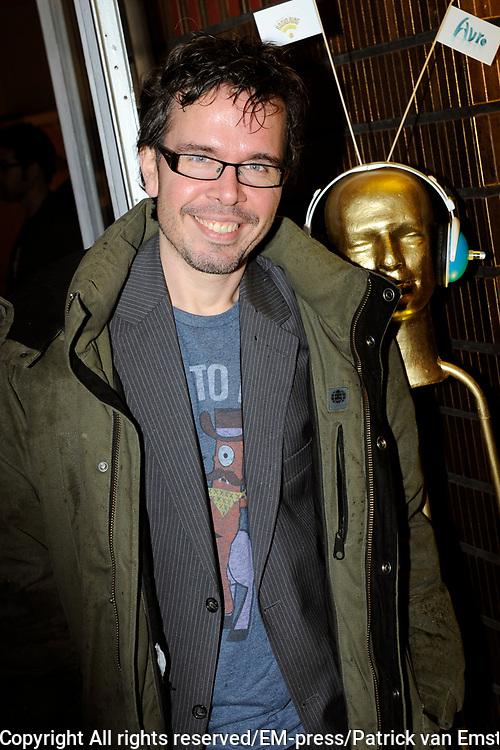 AVRO Radiogala 2011 in het Stadhuis van Hilversum.<br /> <br /> Op de foto:  Michiel Veenstra