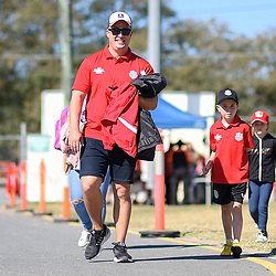 BRISBANE, AUSTRALIA - SEPTEMBER 2:  during the NPL Senior Men's Semi Final match between Olympic FC and Western Pride on September 2, 2018 in Brisbane, Australia. (Photo by Olympic FC / Patrick Kearney)
