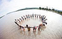 Circle Ceremony in Chimulco, Mexico