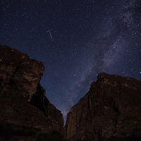 Celestial Crossings - Meteors on unique paths