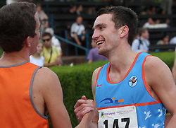 Peter Kastelic and Vid Trsan at Athletic National Championship of Slovenia, on July 20, 2008, in Stadium Poljane, Maribor, Slovenia. (Photo by Vid Ponikvar / Sportal Images).