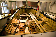 Inside the Maritime museum, Hull, Yorkshire, England