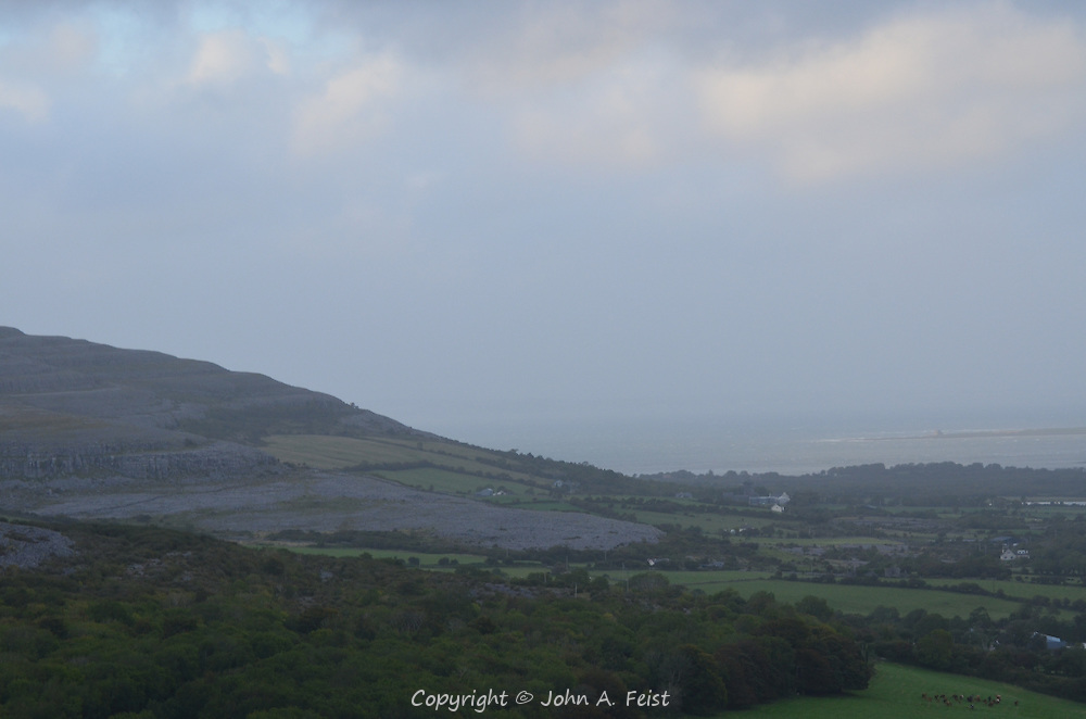 The stone filled landscape of the burren.  County Clare, Ireland