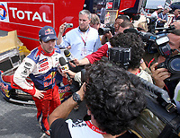 20090405: OURIQUE, ALGARVE, PORTUGAL - SEBASTIEN LOEB (Citroen) win WCR Portugal Rally 2009. <br /> PHOTO: CITYFILES