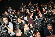 the Photographers at The William Rast show held at The Tent during The Mercedes-Benz Fashion Week Fall 2009 at Bryant Park in New York City