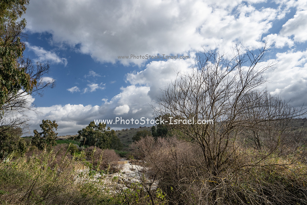 Israel, the Jordan river flows into the Sea of Galilee from the north and then from the Sea of Galilee to the Dead Sea