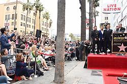 NSYNC Walk of Fame Ceremony. 30 Apr 2018 Pictured: Chris Kirkpatrick, Joey Fatone, JC Chasez, Justin Timberlake an. Photo credit: Tammie Arroyo/AFF-USA.com / MEGA TheMegaAgency.com +1 888 505 6342